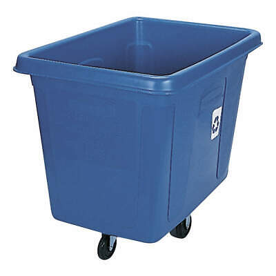 RUBBERMAID Truck,Recycling, FG461673BLUE, Blue