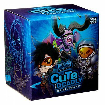 Blizzard Official Cute But Deadly Series 2 Figure Vinyl Toy Blind Box Opened