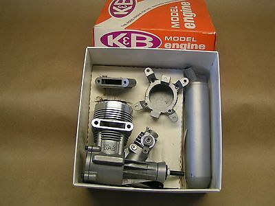 """NEW"" K&B .65 Sportster engine, w/muffler &  orig. box & manual,"