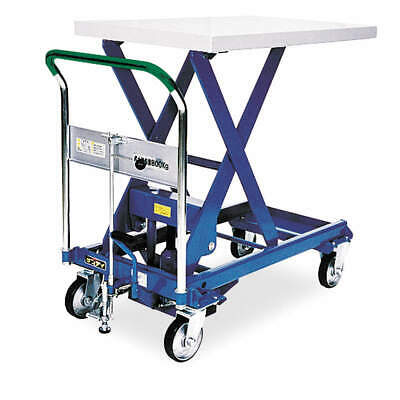 SOUTHWORTH Scissor Lift Cart,1100 lb.,Steel,Fixed, A-500