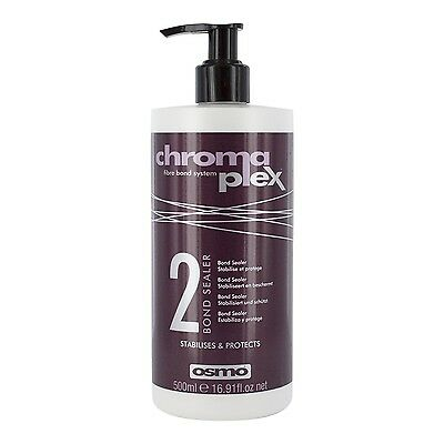 Osmo Chromaplex Fibre Bnd System Bond Sealer 2 Stabilises and Protects Scalp ...