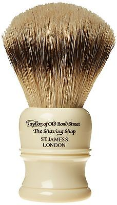 Taylor of Old Bond Street Super Badger Large Imitation Ivory Shaving Brush