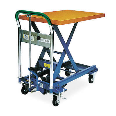 SOUTHWORTH Scissor Lift Cart,550 lb.,Steel,Fixed, L-250