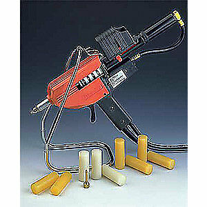 3M Hot Melt Applicator,1x3in,5.5to7.5lb./hr, 22033