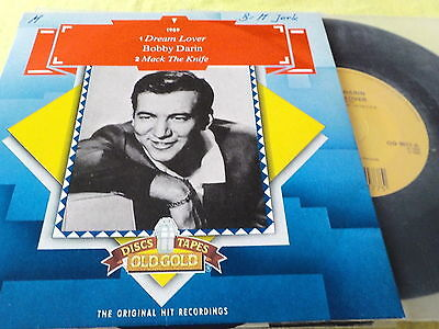 "7""  *60's* BOBBY DARIN - Dream Lover & Mack The Knife *RE near mint"