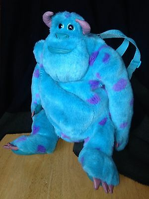 Monsters Inc Sully Backpack Bag - Official Disney