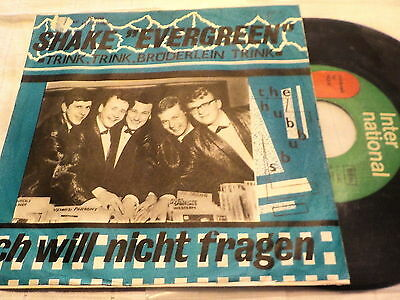 "7""  *60's* THE HUBBUBS - Shake ""Evergreen"" *rare AUSTRO-BEAT"