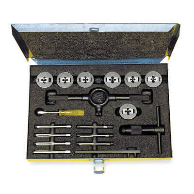CLEVELAND Tap and Die Set,M6 to M18,16pc, C00614