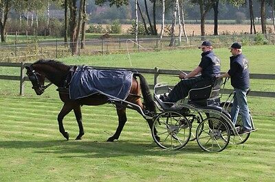 Ideal Equestrian Horse Driving Rug