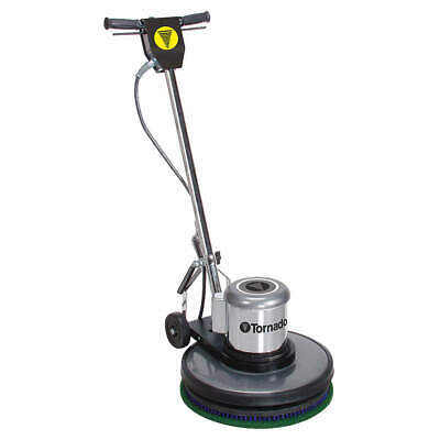TORNADO Floor Scrubber,Single,20 In,1.5HP,175rpm, 97595