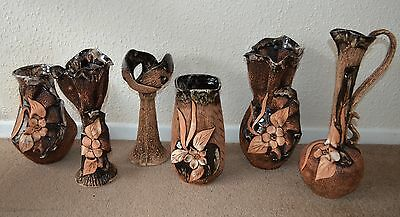 NEW Pottery Bundle Unique  Handmade ceramic stoneware  Vases job lot sale