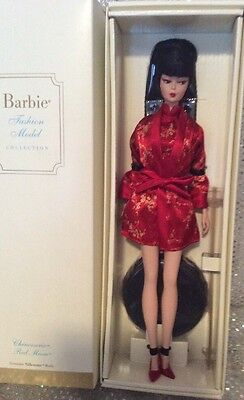 Chinoiserie Red Moon Silkstone Barbie Doll 2004 Gold Label B3431 Mint Nrfb