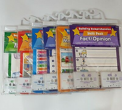Lakeshore Learning Building Comprehension Listening Center Skill Packs
