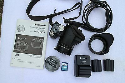 Panasonic DMC FZ18 digital camera