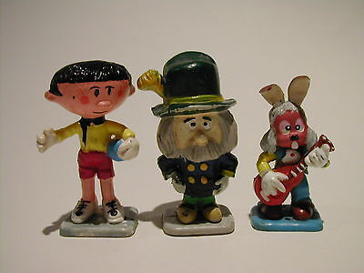 Corgi Magic Roundabout 3 Figure Lot; Basil, Dylan, Mr Rusty