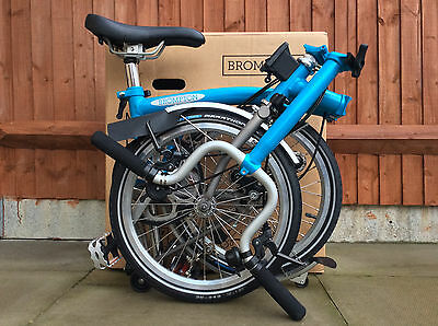Brompton M3L-X Titanium Ti Superlight Folding Bike New Boxed Worldwide Shipping1
