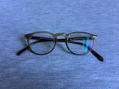 Rare Oliver Peoples 'riley-R' Green Tortoise Glasses Spectacles Rrp £280