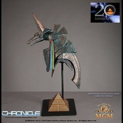 Chronicle Collectibles  - STARGATE: ANUBIS HELMET Lifesize in hand in UK