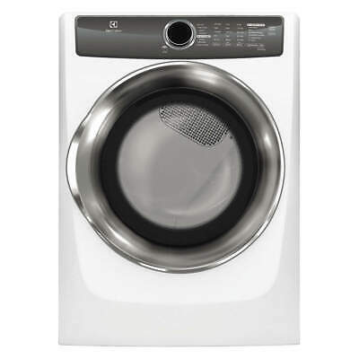 "ELECTROLUX Dryer,27"" W,Power Source Electric,White, EFME527UIW, White"