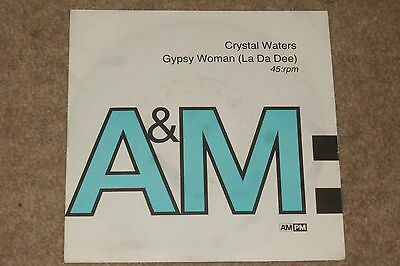 "Crystal Waters ‎– Gypsy Woman (La Da Dee) 7""   1991    NEAR MINT!!"