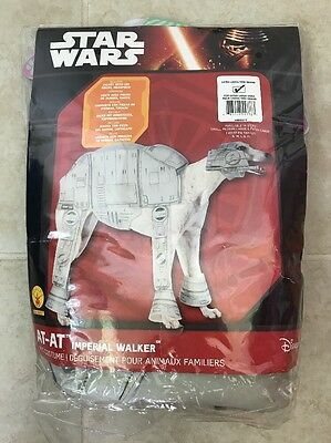 Star Wars At-At Imperial Walker HALLOWEEN COSTUME For DOGS Size XL