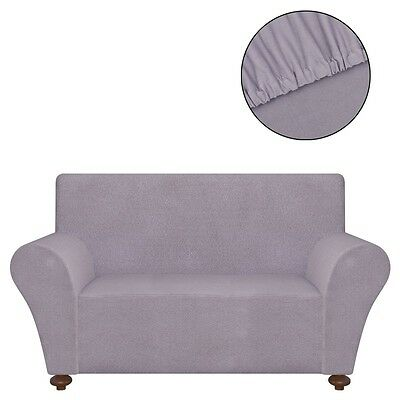 2-seater Stretch Couch Sofa Armchair Slipcover Cover Protector Polyester Jersey