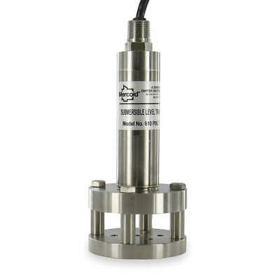 MERCOID Submersible Level Transmitter,0 to 5 PSI, PBLT2-5-40