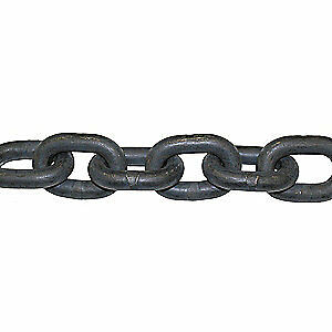 B/A PRODUCTS CO. Alloy Steel Chain,Grade 100,1/2 Size,100 ft., G10-12-100