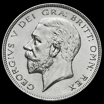 1928 George V Silver Half Crown, A/BU