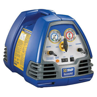 YELLOW JACKET Refrigerant Recovery Machine,1/2 HP,115V, 95762