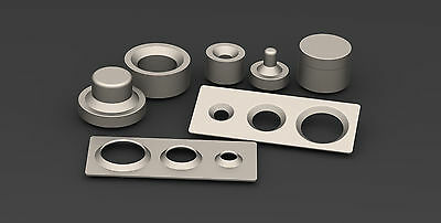 Dimple dies set 2 inch only tool offroad fabrication drift race car 4x4 jeep