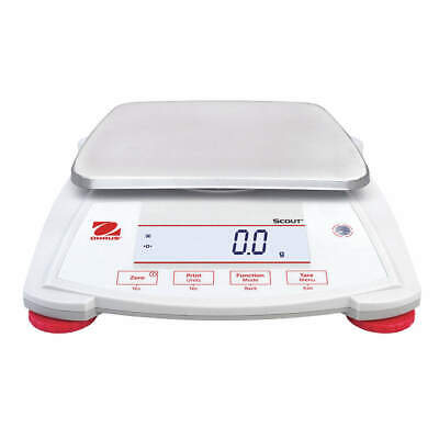 OHAUS Portable Scale,6200g,0.1g,Backlit LCD, SPX6201