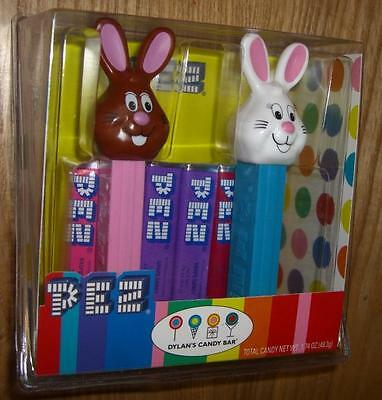 Pez - Dylan's Candy Bar Easter Bunny 2 Pack - Exclusive Set -Sealed Box - Rare