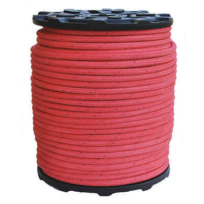 ALL GEAR Bull Rope,PES/Nylon,5/8 In. dia.,600ft L, AGBR58600, Red