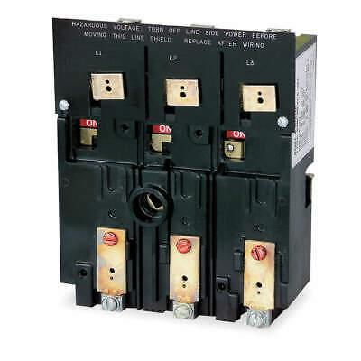 SQUARE D Disconnect Switch,Locking,200A,Black, D10S4