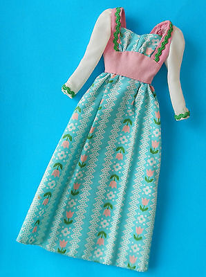 Vintage Barbie 1970's Sweet 16 Dress - Doll Clothes