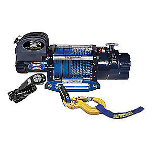 SUPERWINCH Electric Winch,6HP,12VDC, 1618201