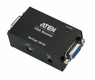 Aten VB100 VGA Booster 70m (Black)