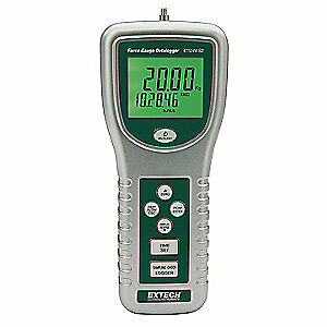 EXTECH High Capacity Force Gauge with SD Card, 475044-SD