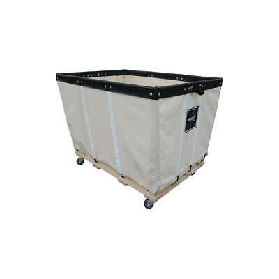 ROYAL BASKET TRUCK Heavy Duty Basket Truck,24 Bu,Canvas, G24-CCW-HDA-4UNN, White