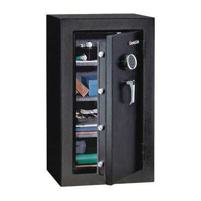 SENTRY SAFE Steel Executive Fire Safe,4.7 cu ft,Black, EF4738E, Black