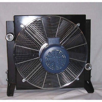 COOL-LINE Oil Cooler,AC,8-80 GPM,115/230 V,1 HP, A40-1