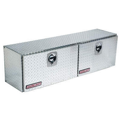 WEATHER GUARD Topside Truck Box,Silver,64-1/4 in. W, 364-0-02, Silver