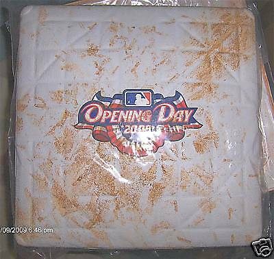 MLB Authentic Game Used Open Day Bases 2008-Multiple