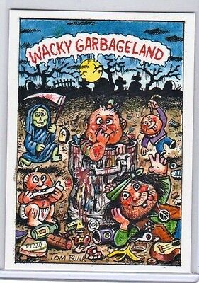 2017 Wacky Packages/GPK Wacky Garbageland Philly Non Sports Exclusive Card Rare