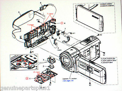 GENUINE  PARTS FOR  SONY HDR- CX360 from $5-$75