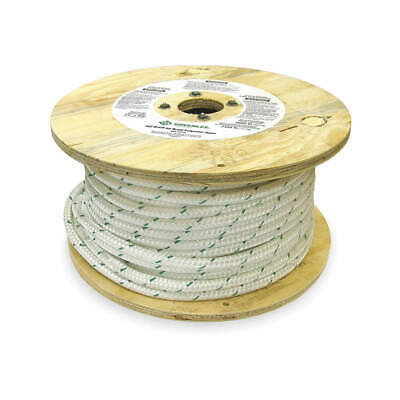 GREENLEE Polybraid Cable Pulling Rope,1/2 In Dia,300 ft, 455