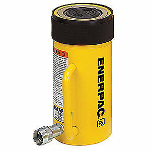 ENERPAC Cylinder,50 tons,4in. Stroke L, RC-504