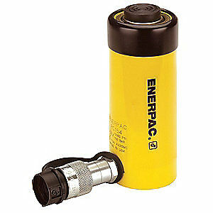 ENERPAC Cylinder,15 tons,8in. Stroke L, RC-158