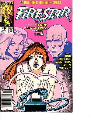 Firestar #1,2,3,4 (1986) Vf/nm To Nm X-Men New Mutants Arthur Adams New Tv Show!